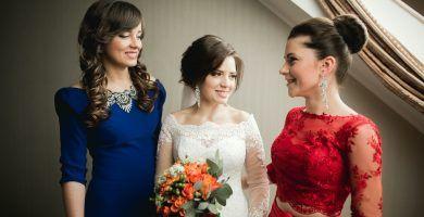Vestidos de madrina novia